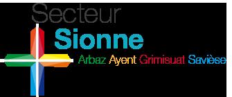 Secteur de la Sionne Logo